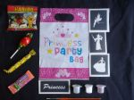 20 x Girls Princess glitter tattoo pre-filled party / loot bags